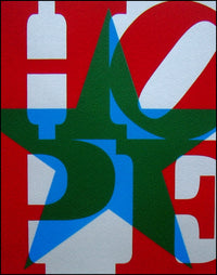 Robert Indiana- Hand Pressed Print