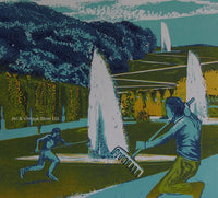 Robert Wurth - Original Woodcut