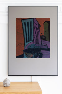 Michael Hofmann - Original Woodcut