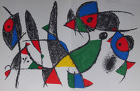 Joan Miró - Original Lithograph 1975