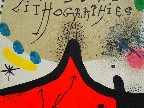 Joan Miró - Original Lithograph 1972
