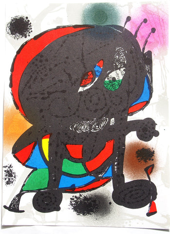 Joan Miró - Original Lithograph 1978