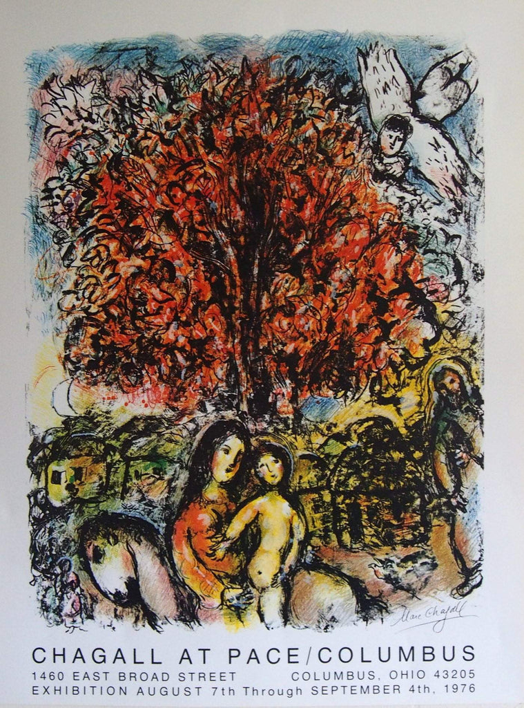 Art & Vintage Store Original Posters Marc Chagall Original Artist Poster 1976