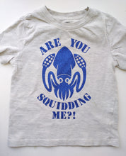 Load image into Gallery viewer, Are you Squidding Me? T-shirt with glitter design