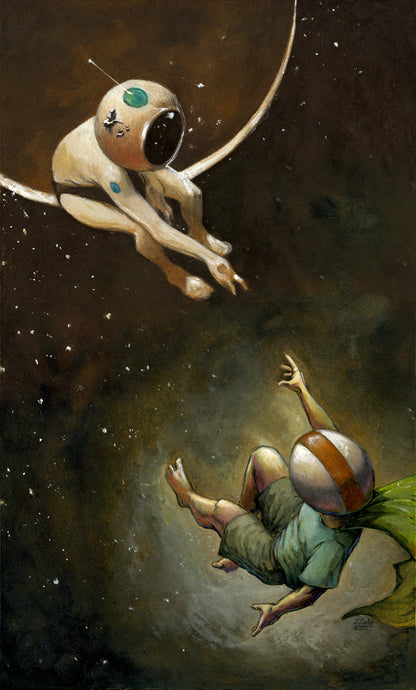 Reaching for the Starman, print