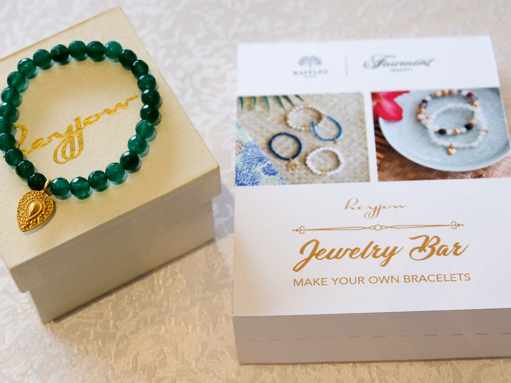 Heyjow's Make-Your-Own-Bracelets Workshop at Raffles Hotel Makati