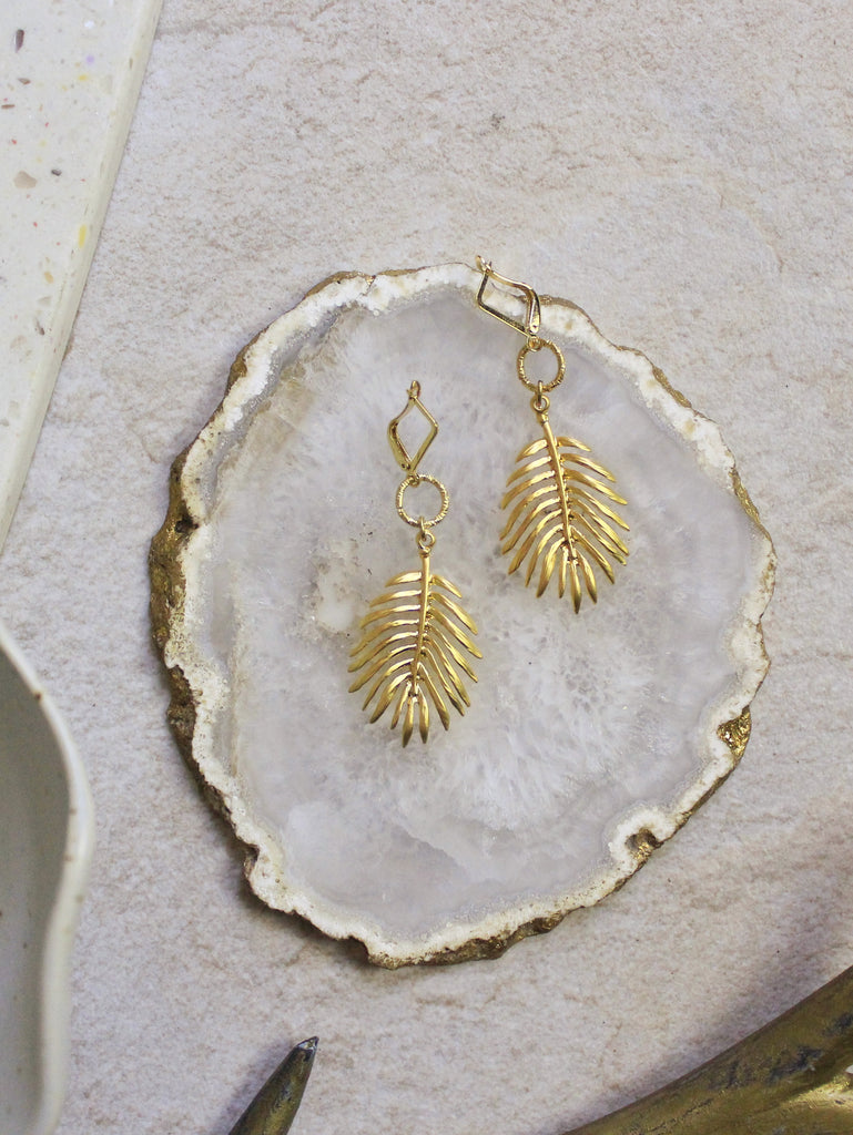 7 -  Raman Earrings