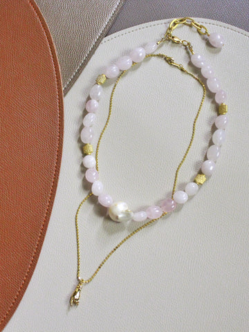 7 Holiday - Vivero in Rose Quartz