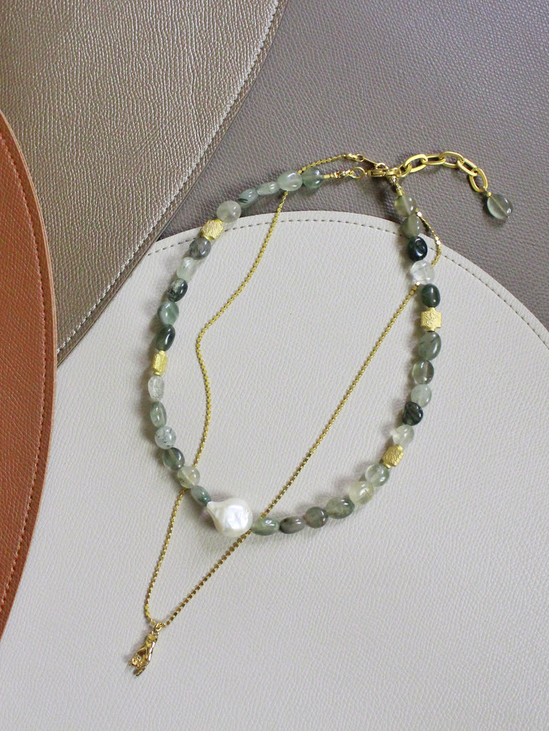 7 Holiday - Vivero in Green Jasper