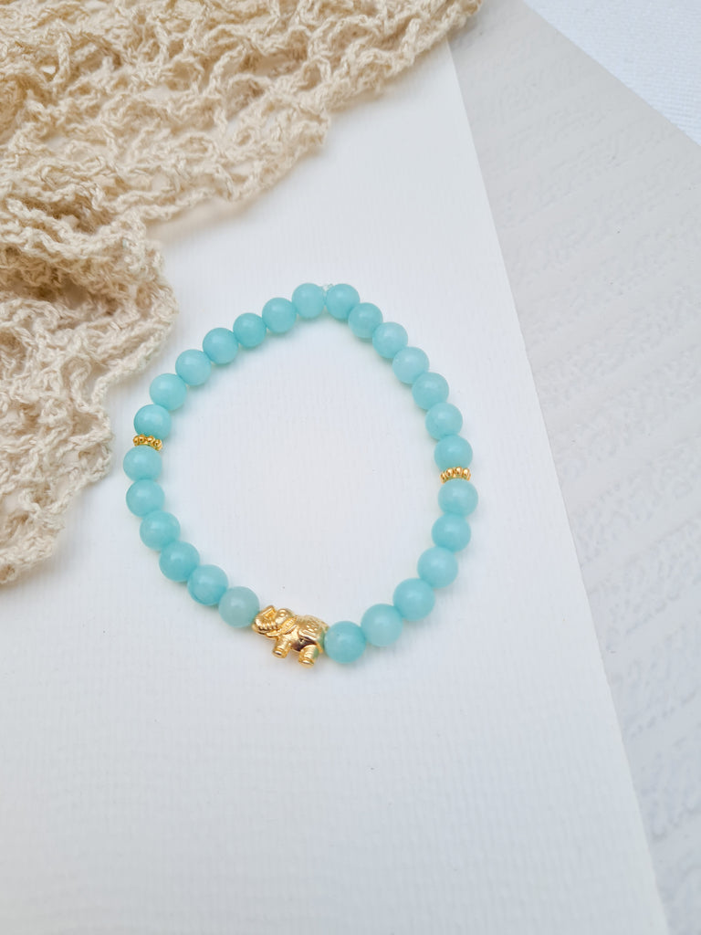 Bracelet Bar - Kalare in Aquamarine