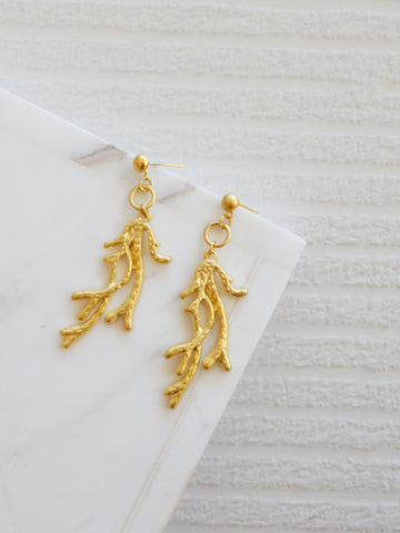 Gold Coast - Aquina Earrings