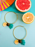 Summer Bounty - Citron Earrings 2