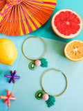 Summer Bounty - Citron Earrings 5