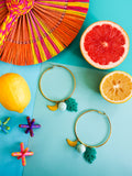 Summer Bounty - Citron Earrings 6