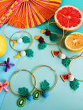 Summer Bounty - Citron Earrings 3
