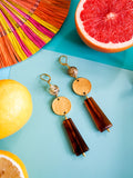 Summer Bounty - Apricot Earrings