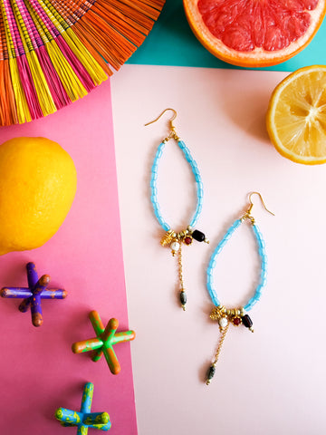 Summer Bounty - Araza Earrings 7