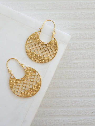 Gold Coast - Boca Earrings