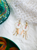 Island Girl Blush - Flamingo Earrings