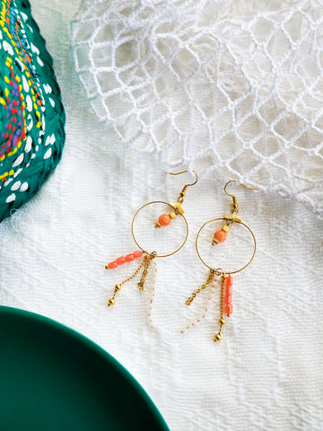 Island Girl Blush - Robin Earrings