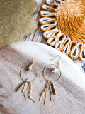Golden Glow - Madeira Earrings
