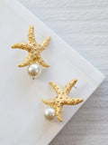 Gold Coast - Anitha Earrings in Pearl