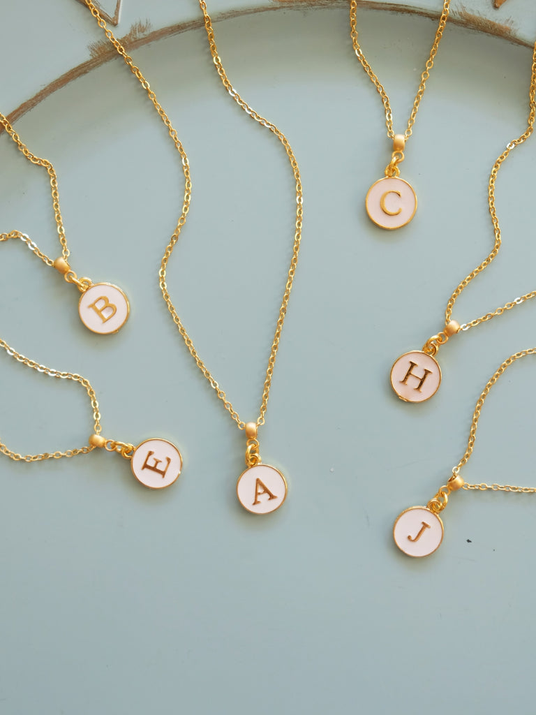 Summer Monogram Necklace
