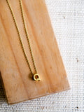 Minimalist Initial Necklace