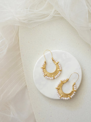 Golden Glow - Arenas Earrings