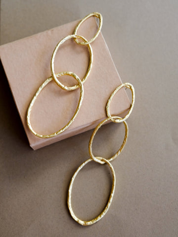 V - Goldwyn Earrings
