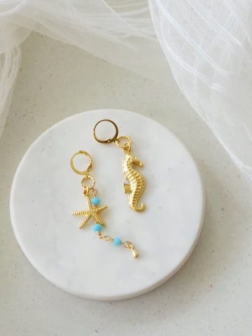 Azure Paradise - Tierra Earrings