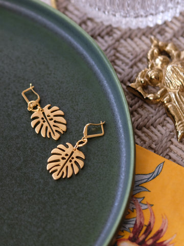 Ode to Six Holiday - Hoja Earrings