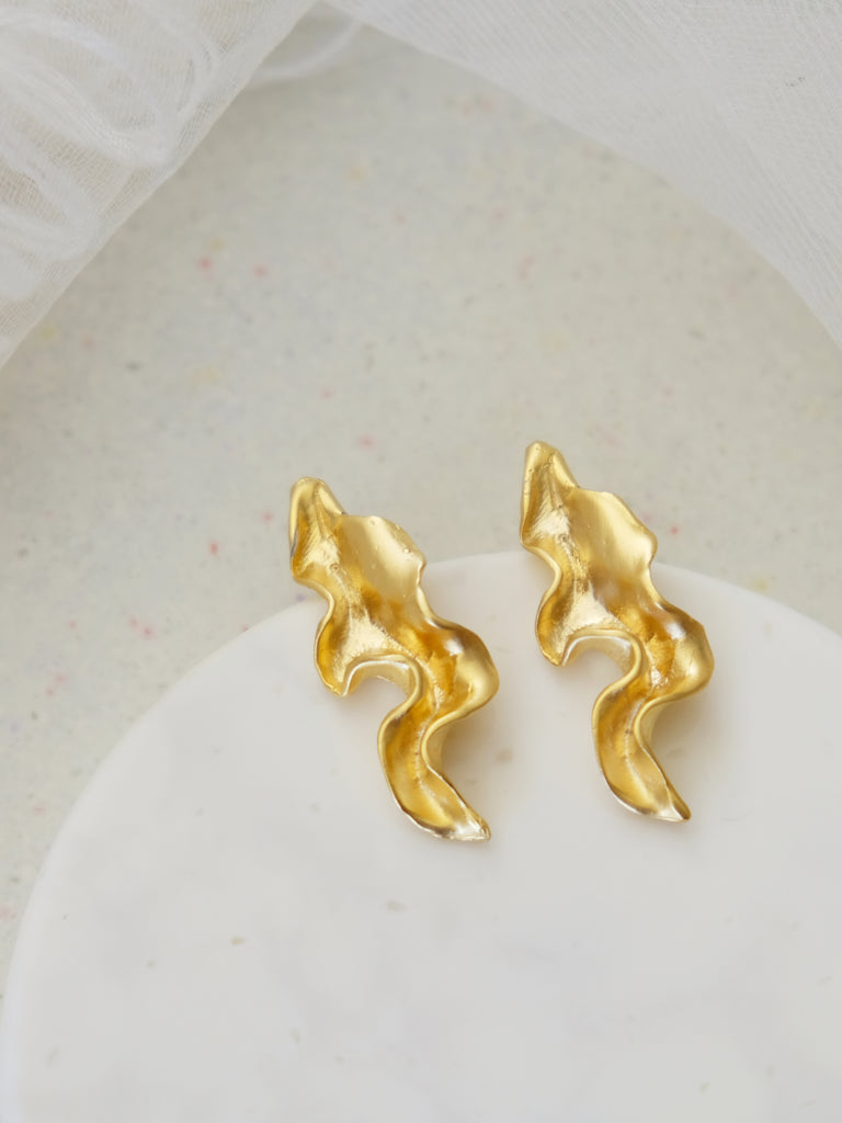 Golden Glow - Nueva Earrings