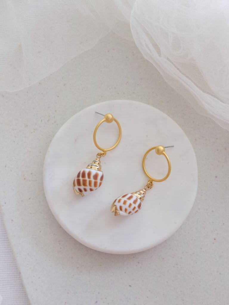 Golden Glow - Kari Earrings
