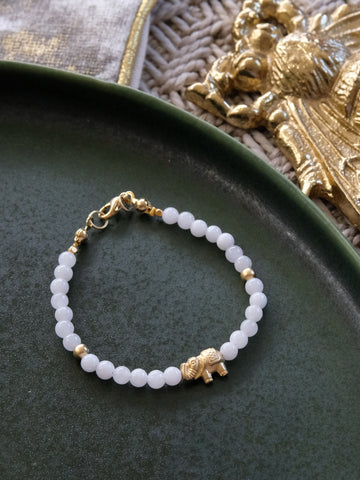 Ode to Six Holiday - Ostara Bracelet in White