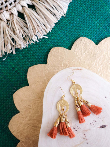 Holiday Preview - Autumn Earrings