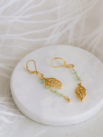Tropical Greens - Kala Earrings