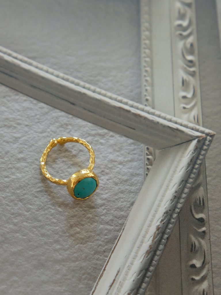 Archive Sale - Luana Ring in Turquoise