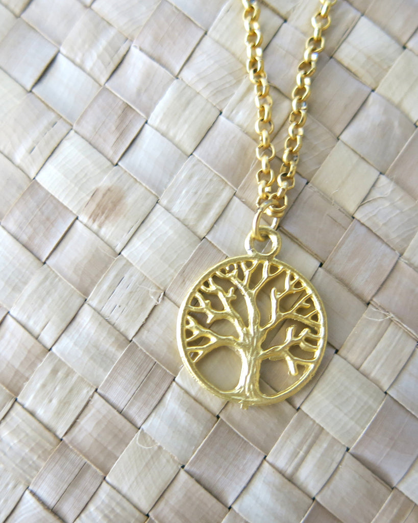 Mystic knot and tree of life necklace duo heyjow mystic knot and tree of life necklace duo mozeypictures Image collections