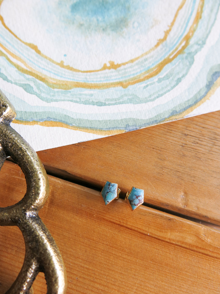 Holiday Preview - Feliz Earrings in Turquoise