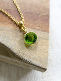 Prelude to Summer - May Birthstone Necklace