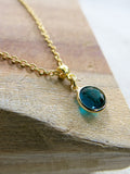 Prelude to Summer - December Birthstone Necklace