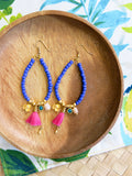Prelude to Summer - Bahama Earrings in Indigo