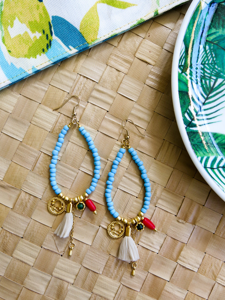 Prelude to Summer - Bahama Earrings in Sky
