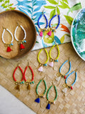 Prelude to Summer - Bahama Earrings in Lime