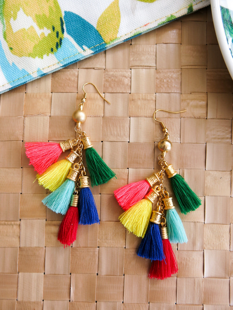 Prelude to Summer - Oahu Earrings 4