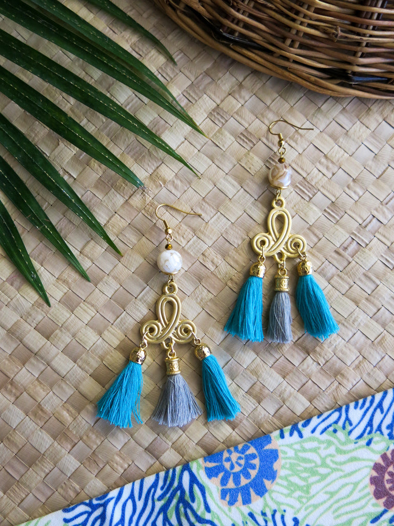 Azure Paradise - Cabo Earrings