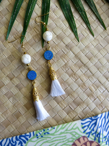Azure Paradise - Playa Earrings