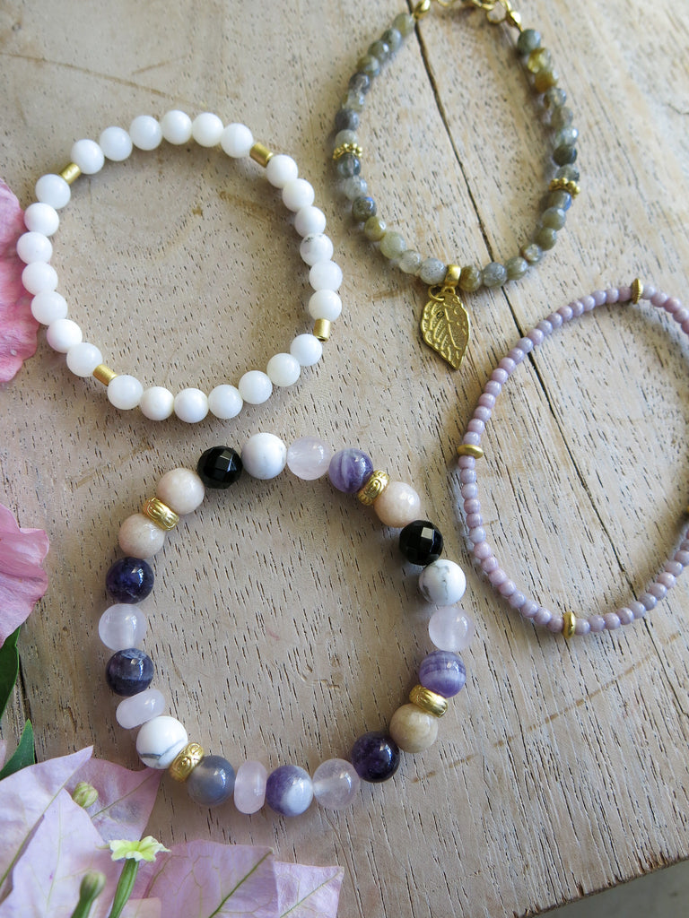 Violet and Lilies - Lyla Bracelet Set