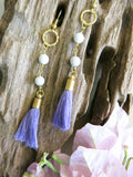 Violet and Lilies - Heather Earrings